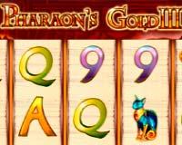 Игровой аппарат Pharaoh's Gold 3 (Золото Фараона 3)