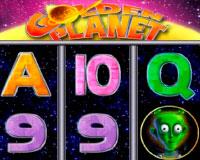 Онлайн-автомат Golden Planet (Золотая Планета)
