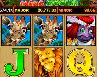 Онлайн-слот Mega Moolah (Мега Мула)